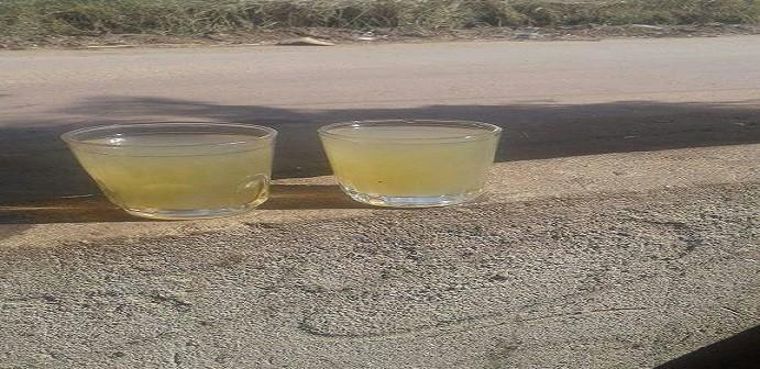 تغير لون مياه الشرب في مطوبس بكفر الشيخ يثير غضب المواطنين (صور وفيديو)