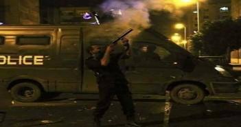 بالصور.. بورسعيد تواصل إطفاء أنوار شوارعها.. وتفريق مسيرة ضد حكم «المذبحة»
