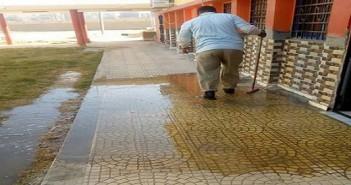 مرضى يشكون طفح الصرف بوحدة الغسيل الكلوي بالرديسية في أسوان
