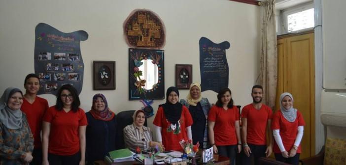 «Infinity Team».. مبادرة شبابية لتنمية طلاب المدارس بالقاهرة (صور)