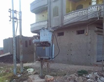 مطالب بنقل محول كهرباء «شرمساح» بدمياط بعيدًا عن الكتلة السكنية (صور)