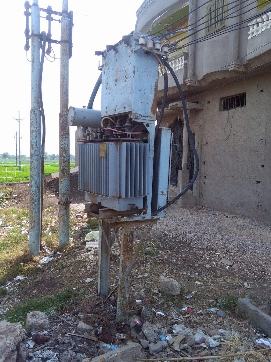 مطالب بنقل محول كهرباء «شرمساح» خارج الكتلة السكنية (صور)