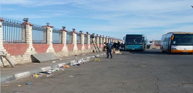 استياء من تردي مستوى نظافة محطة أتوبيسات بشرم الشيخ (صور)