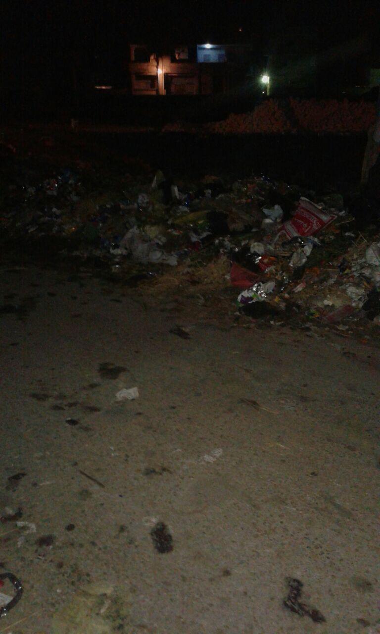 أهالي «كفر الجنينة» بالدقهلية يطالبون برفع القمامة من على مدخل القرية