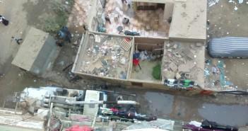 مطالب بحل أزمة حصار الصرف الصحي لبيت كهرباء «بشتيل لعبة»