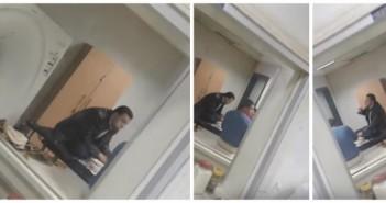 ▶ فيديو| عاملون في مستشفى كفر الزيات يأكلون على جهاز الأشعة