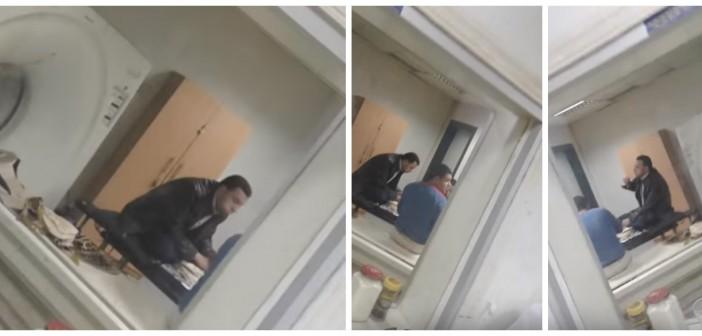 معاقبة مُصور فيديو تناول موظفين للطعام على جهاز أشعة مستشفى كفر الزيات: «ده جزائي»