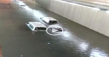 بالفيديو.. الأمطار والسيول تغرق مدينة الدمام بالسعودية