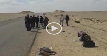 بالفيديو.. «غرب الدلتا» تترك ركابها في الصحراء بعد تعطل أتوبيسها