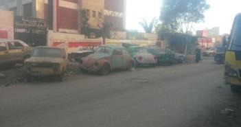 مطالب برفع القمامة والسيارات المُكهنة في شوارع بعين شمس (صور)