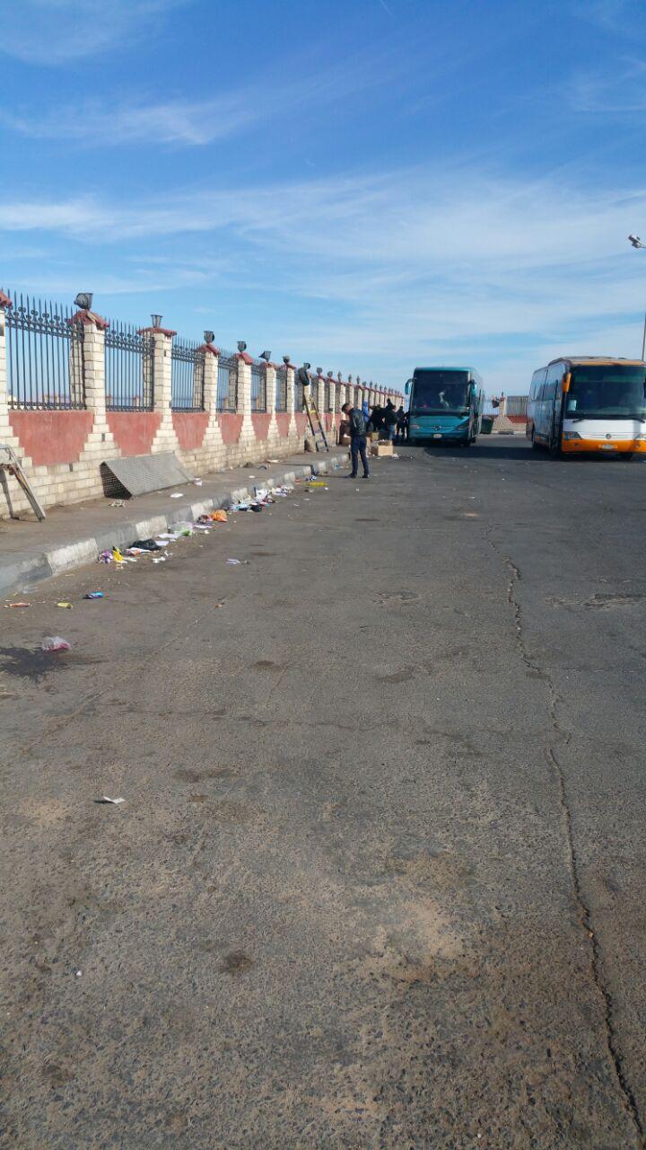 استياء من تردي مستوى نظافة محطة أتوبيسات رئيسية بشرم الشيخ
