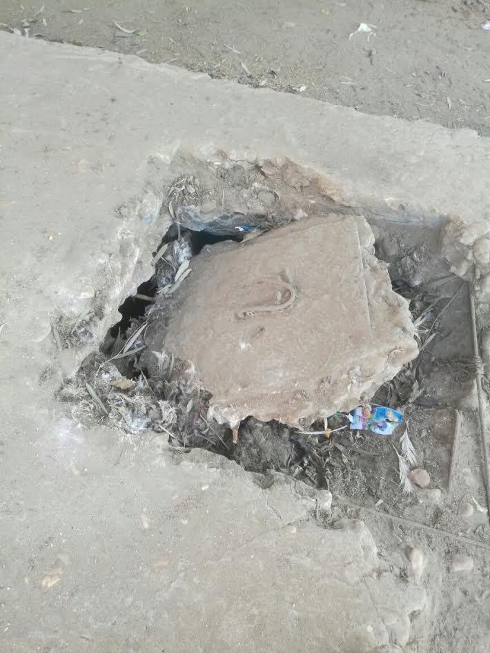 أهالي «القشيش» يطالبون بتغطية أحواض الري حرصاً على حياة الأطفال (صور)