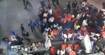 سكان «كابول» بمدينة نصر يشكون انتشار المقاهي بالشارع (صور)