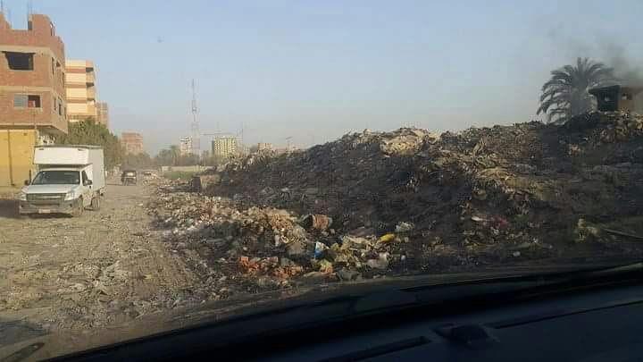 سكان شارع «مصنع الصابون» بالقليوبية يشكون انتشار القمامة (صور)