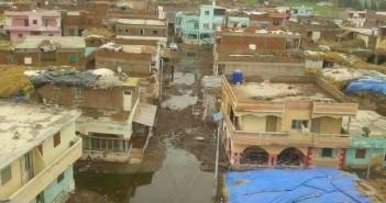قرية سكان «العظمة» بكفر الشيخ تغرق في مياه الصرف الصحي (صور)-27
