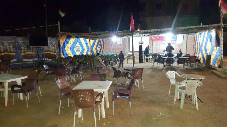 شاشات عرض عملاقة بمراكز شباب«فنارة» لعرض مباراة منتخب مصر (صور)