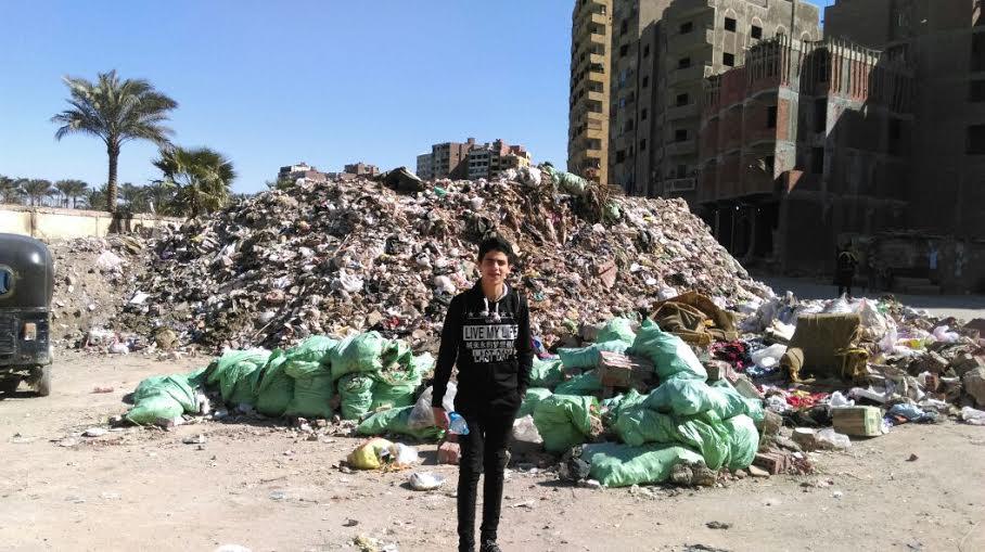 سكان «ترعة عبدالعال والشوربجي» يطالبون بتجميل الشوارع ورفع القمامة (صور)