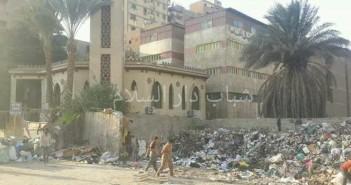 سكان «دار السلام» يشكون انتشار القمامة (صورة)
