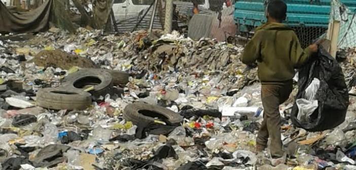 تفاقم أزمة القمامة في شوارع بعين شمس.. وأهالي: مفيش مسؤول اتحرك (صور)