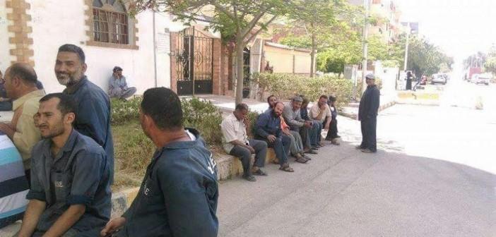 عمال «هورس» يطالبون بصرف رواتبهم المتأخرة منذ 5 أشهر (صور)