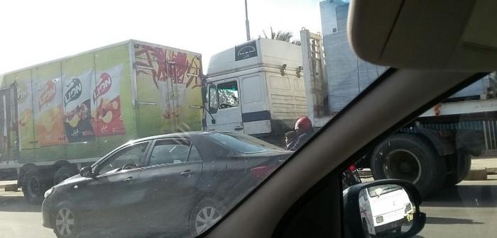 مطالب بنقل «كارتة» النقل الثقيل من ميدان الرماية لحل أزمة المرور (صور)