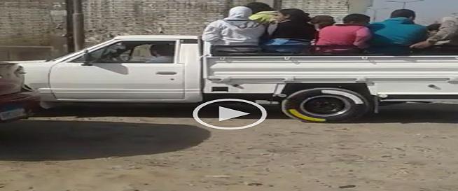 ▶️معاناة في النصف نقل.. سكان البساتين ودار السلام بحاجة لمواصلات آدمية (فيديو)