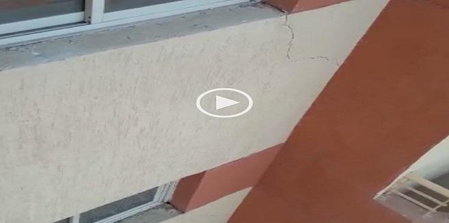 ▶️ سكان «الإسكان الاجتماعي» بمدينة بدر يشكون من الشروخ بالشقق الجديدة (فيديو)