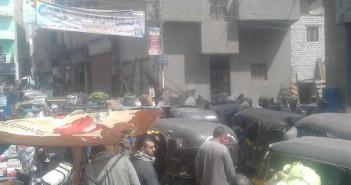 مطالب بنقل سوق شعبي في «منية الحيط» بالفيوم