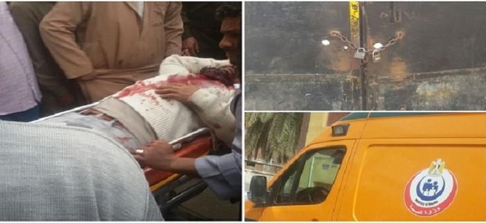 فين المفتاح.. مستشفى الحامول بكفر الشيخ مُغلقة بوابته أمام مواطن حالته حرجة (صور)