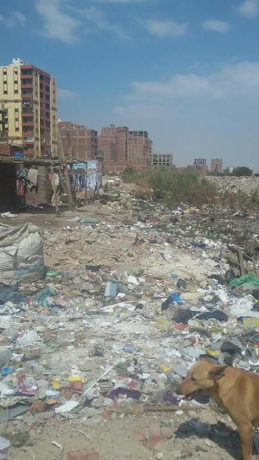 القمامة تحاصر «النزهة 2» وسط استياء من الأهالي(صور)
