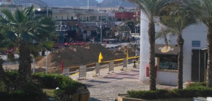 شرم الشيخ.. مطالب بسرعة إنهاء أعمال الحفر والصيانة في خليج نعمة (صور)