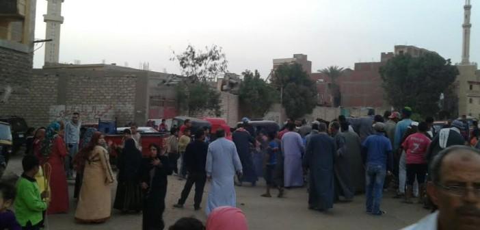 بعد واقعة غرق توك توك.. أهالي «أبومسلم» يطالبون بتغطية مصرف القرية(صور)