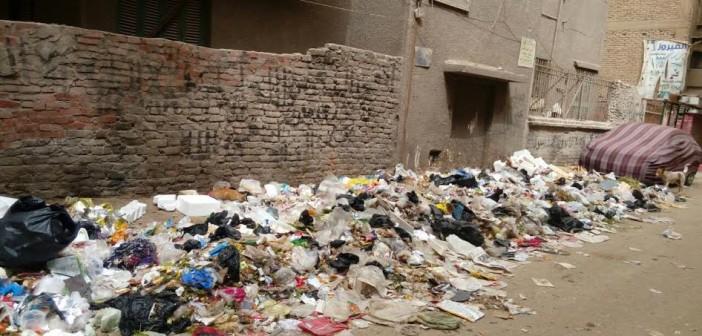 سكان «حنا النميري» في عين شمس يشكون تفاقم أزمة القمامة (صور)