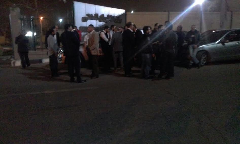 صور... وقفة احتجاجية للعاملين بشركة مصر للطيران للمطالبة لتغيير اللائحة المالية