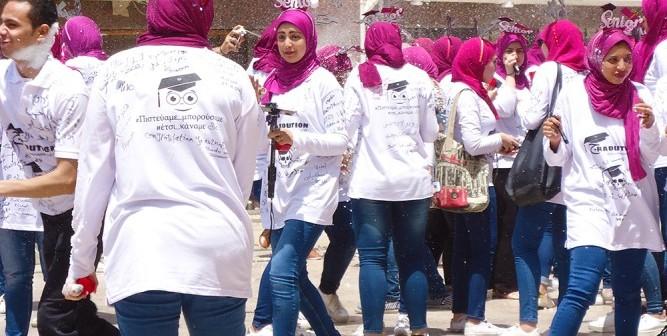بالصور.. حفل تخرج دفعة جديدة من طلاب «اجتماع عين شمس»