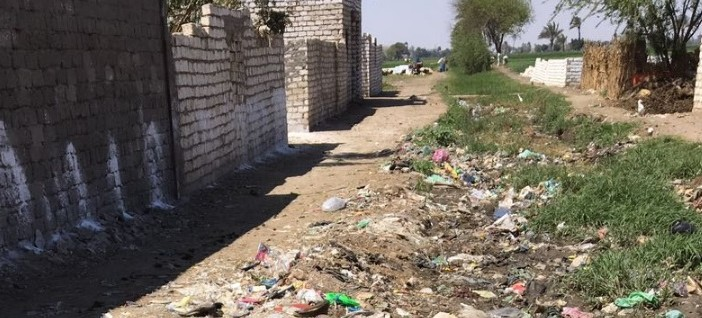 ▶️ مطالب بتطهير مجري مائي ملوث في إحدى قرى المنيا (صور وفيديو)