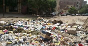بالصور.. انتشار القمامة في المدخل الغربي لمدينة ملوي