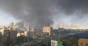 حريق نادي الجزيرة