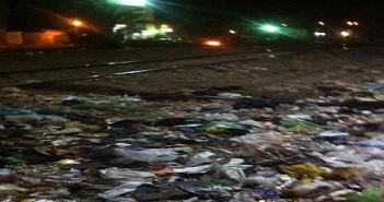 سكان قليوب البلد يشكون تفاقم أزمة القمامة