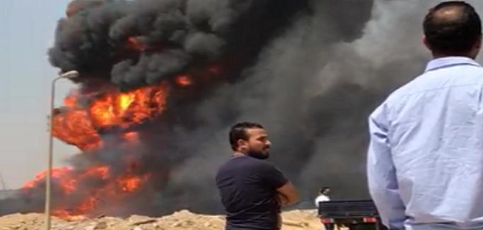 ▶️ انفجار خط غاز بـ«دائري التجمع الخامس» (فيديو وصور)