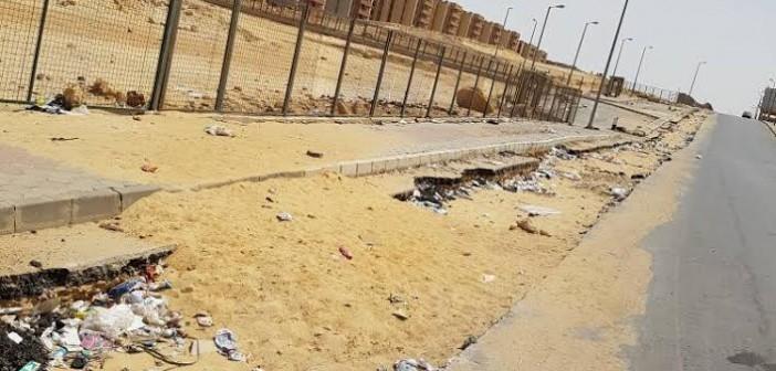 مطالب بتطوير طرق بحي «الأسمرات».. ورفع القمامة من عليه (صور)