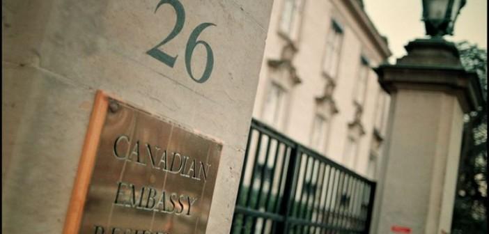 المشاهد المأساوية أمام السفارة الكندية (رأي)