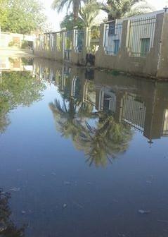 «القابضة للصرف الصحي»: المناطق المُتضررة بالسويس «عشوائية»