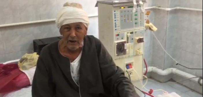 فيديو.. مرضى الكلى بمستشفى أبو قرقاص: الجلوكوز وصل 30 جنيهًا ونشتري العلاج