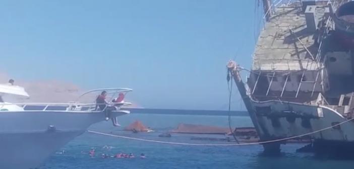 فيديو.. مواطن يرصد مخالفات على شواطئ «شرم الشيخ»