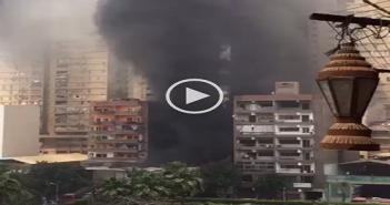 ▶️ بالفيديو.. حريق هائل في شبرا الساحل.. وتصاعد سحب الدخان