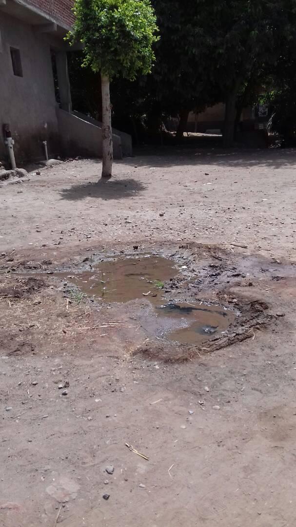 مطالب بإصلاح كسر بماسورة مياه في قرية «السيد عطية» بكفر الشيخ