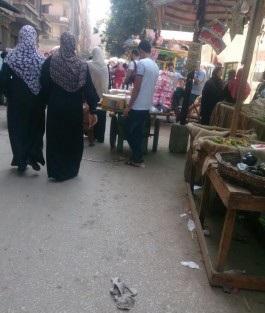 سكان «زهراء عين شمس» يشكون انتشار الباعة الجائلين في الشوارع