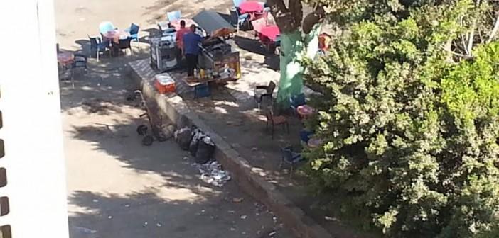 سكان «أحمد عرابي» يشكون انتشار المقاهي غير المرخصة (صور)