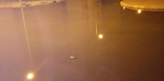 صور..غرق شوارع الإسكان الاجتماعي بـ«الياسمين» بمياه الصرف